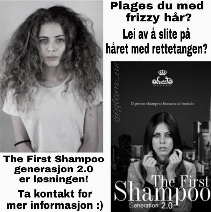 Fordeler med The First Shampoo: – Fjerner frizz – Gjør håret sterkere/bygger det opp…