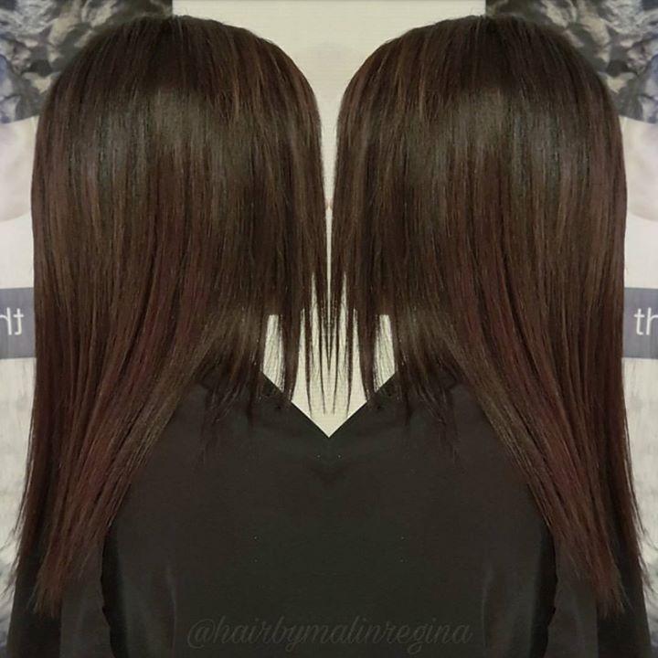 Denne kunden ønsket et slett hår, men samtidig et sunnere og bedre hår. Her…