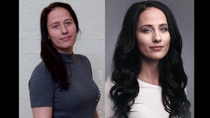 Endelig kan vi vise dere resultatet fra shooten vi hadde for Hair By Kashmere…