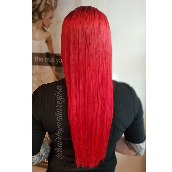 Frisør: Malin #red #hair #fabuloso #fire #glam_as #hairinspiration #hairstylist #hairmagic #tromsøfrisør
