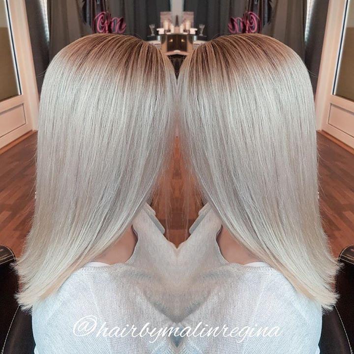 Frisør: Malin @hairbymalinregina #ice #blonde #highlites #glam_as #olaplex #illumina #lovemyjob