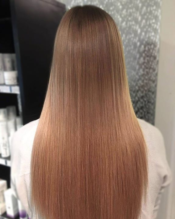 Kashmere leverer igjen! Nydelig kobber-blond! Frisør: Tina #tapeextension #hairbykashmere #hairinspiration #copper #blonde #hairstylist #welovetodohair…