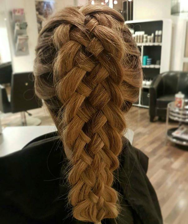 Flettekunst! Frisør: Jill #braid #5 #art #hair #hairart #hairinspiration #glam_as #frisøritromsø
