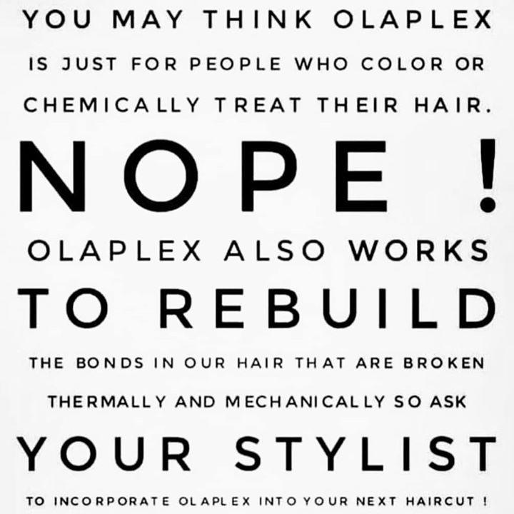 Olaplex er for ALLE … som har hår på hodet