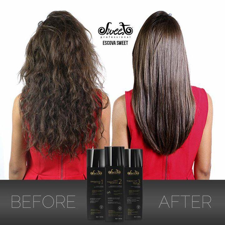 Vi får nå inn en ny keratinbehandling, Sweethair Lovely samt verdensnyheten Sweethair First Shampoo.…