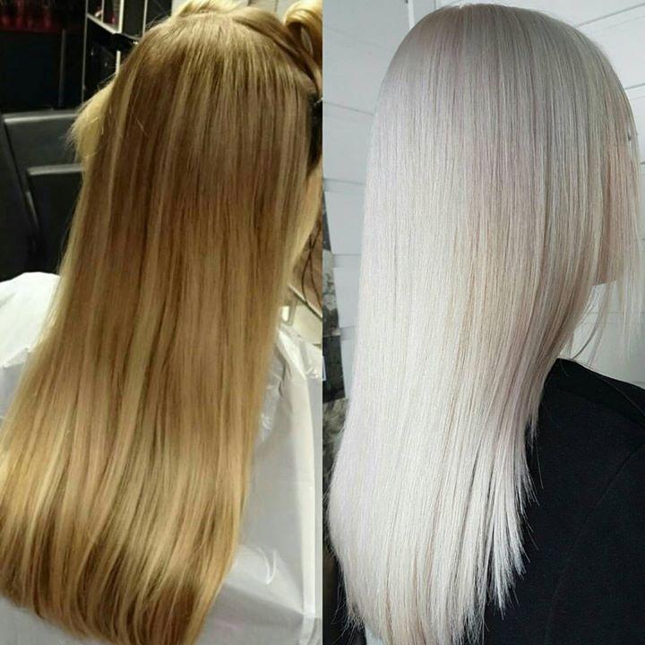Målet var å få håret blondt til bryllupet. Dette klarte vi. Olaplex is the…