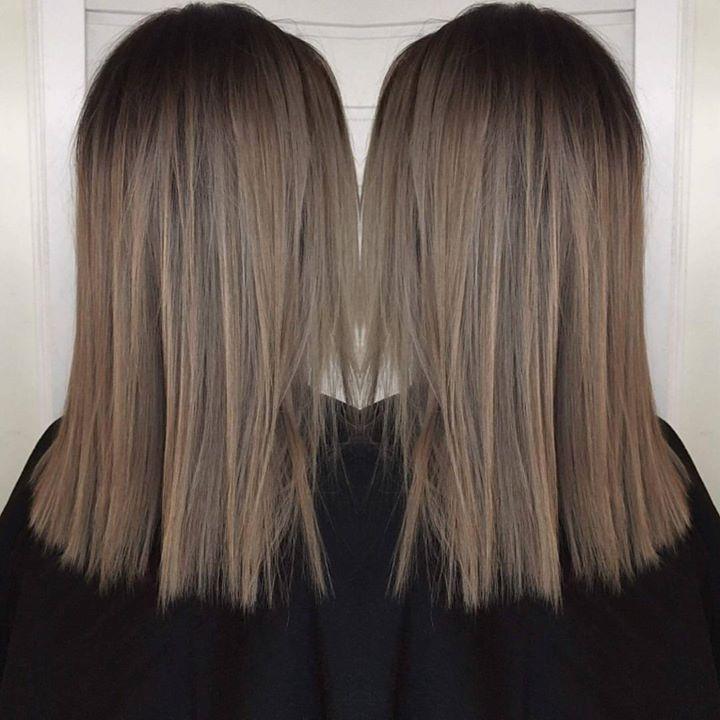 Nydelig farge! Juniorfrisør: Camilla #illumina #wellahair #wellalife #juniorhairstylist #glam_as #tromsøfrisør #hairinspiration #welovehair #greyhairs #ash…