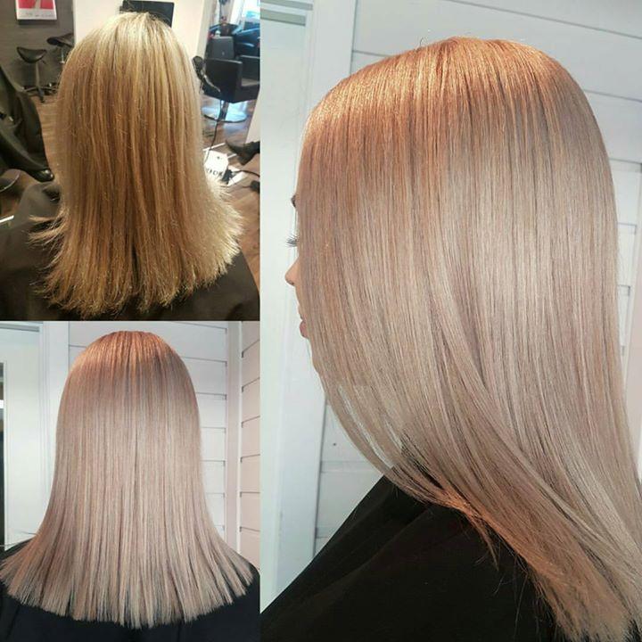 Forandring fryder Frisør: Jill #olaplex #olaplexno #olaplexnorge #blonde #blondehair #beforeandafter #hairstylist #illumina #wellahair #ash…