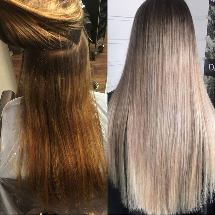 Prosjekter er gøy! Juniorfrisør: Tina #big #different #new #hair #nofilter #nofoils #hairart #juniorhairstylist #glam_as…