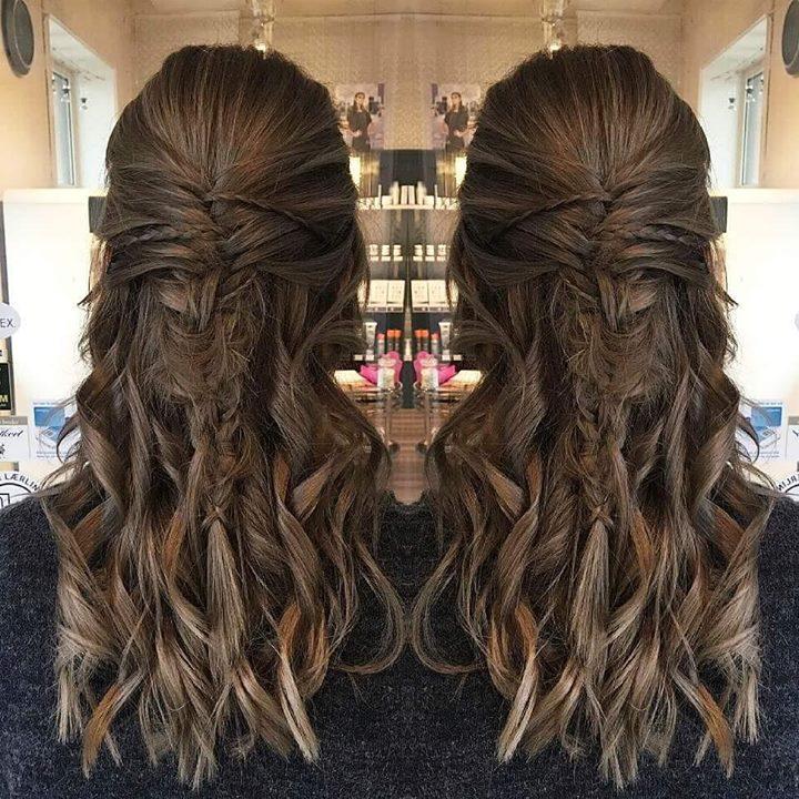 Oppsett med fletter. Frisør: Jill #updo #braids #fun #glam_as #hairart #hairstylist