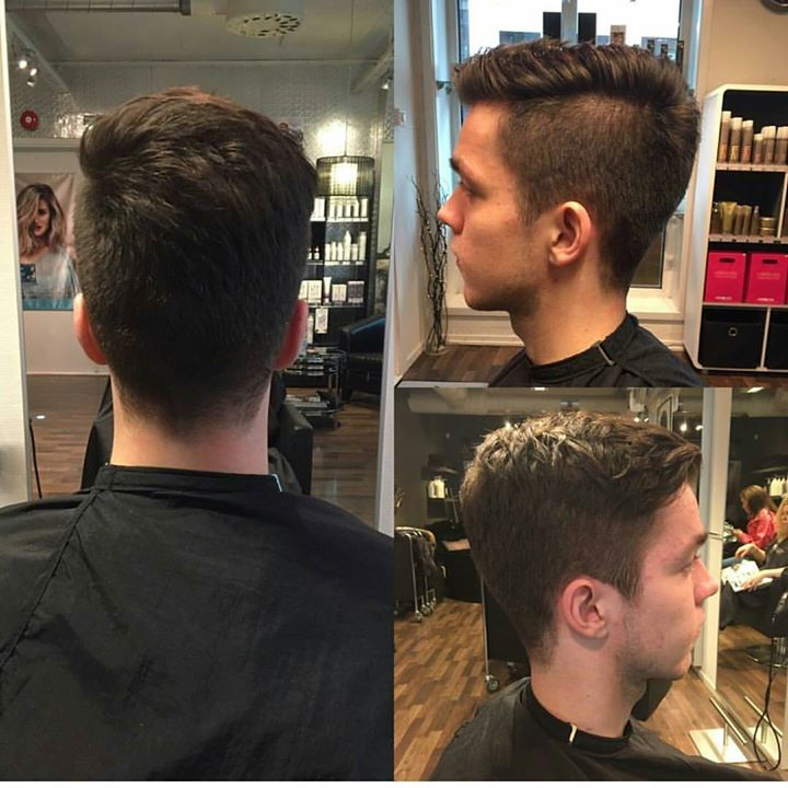 Ny sveis Juniorfrisør: Camilla #new #haircut #menshair #glam_as #hairinspiration #juniorhairstylist