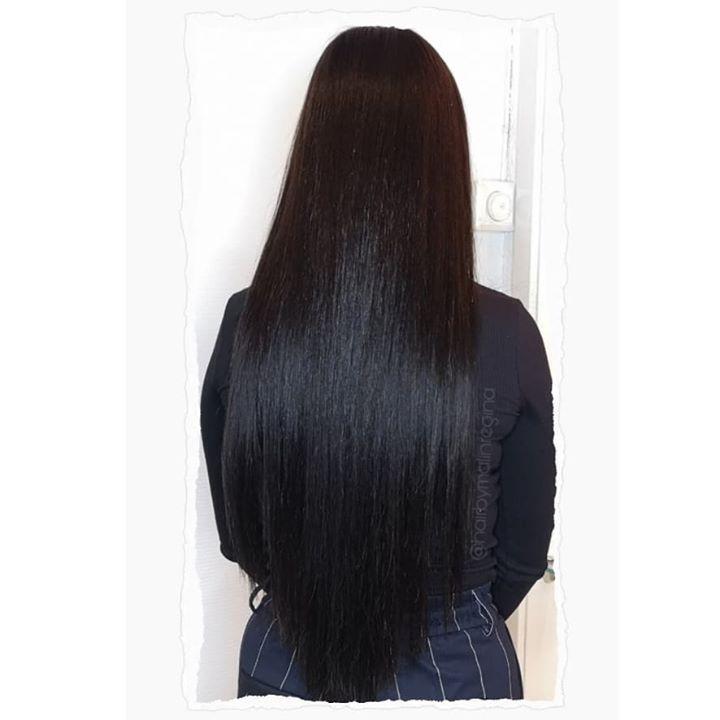 Denne kunden har fått en mørkere hårfarge samt full forlengelse med tape extensions. Ønsker…