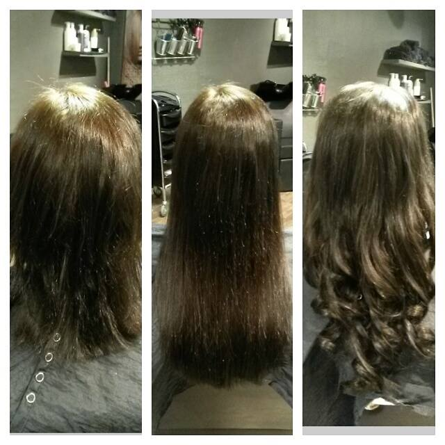 Ønsker du mer fylde/volum eller lenger hår? Vi har tape-extension fra Hair Direct. Volum…