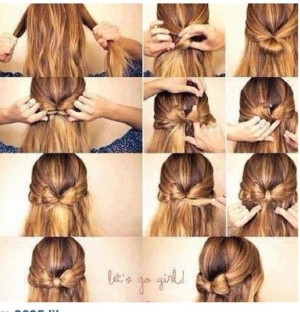 Lyst å pynte deg med en hårsløyfe til helgen? Her er et genialt å…