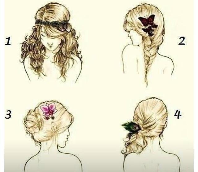 Små søte enkle detaljer for en fresh og lett frisyre!