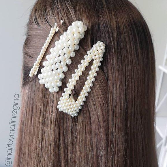 Vi bare digger disse spennene fra @onfleekno Pynter opp håret på 1-2-3
